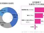 日本の労働者の43%が「在宅勤務は生産性が下がる」と回答、アドビ調査