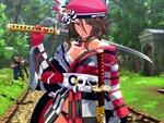 『お姉チャンバラORIGIN 』のPC版が10月14日、Steamに見参!