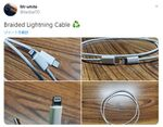 iPhone 12同梱の新Lightningケーブルの写真リーク