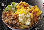 """丸亀製麺「漢気!牛肉タル鶏天ぶっかけうどん」ボリューム満点""""得サイズ""""も"""