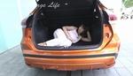 内装重視のクルマ好き女子、日産キックスの広い車内に満足も寝転ぶのは不満アリ