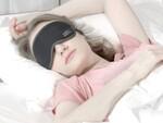 遮光性が高く移動中や休憩中にオススメ! 特殊素材を使ったアイマスク