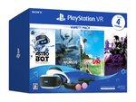 SIEがPS VR一式とソフトが同梱された数量限定パック「PlayStation VR Variety Pack」を発売!