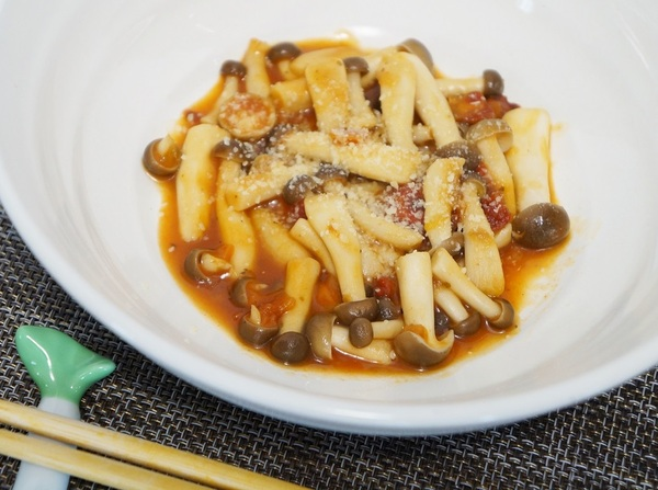 セブンのスープの素を活用!しめじの簡単イタリア風おつまみ