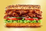 贅沢肉サンド、サブウェイで!肉5割増の得盛キャンペーンも