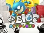 ぬりえアクションゲーム『ブロブ カラフルなきぼう』のPS4版が本日より配信開始
