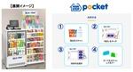 ミニストップ、キャッシュレス決済専用の無人店舗サービス「MINISTOP POCKET」を提供開始