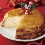 ドトールの「ミルクレープ」をホールでいかが? クリスマスケーキの予約が始まりますよ