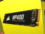 CORSAIRからリード3480MB/秒のNVMe SSD「MP400」シリーズが発売