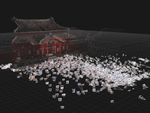グーグル、写真から生成した「首里城正殿 3D復元モデル」などを公開