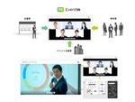 ブイキューブ、オンラインイベントプラットフォーム「EventIn」提供開始