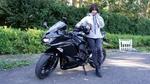 バイク女子・美環、Ninja ZX-25Rに乗って忍者の修行をしにいく