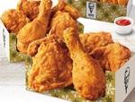 KFCのウィンターパック!オリジナルチキン10ピース、ポテト、ナゲットと大容量