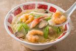 バーミヤン「海鮮3種の塩あんかけラーメン」などカニ、海老、牡蠣の豪華メニュー5品