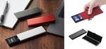 エレコム、メモリーカードやSIMを収納するアルミニウム製ケース5種