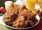 1羽まるごと揚げた「丸鶏のチキン」が1000円!からやまのクリスマス
