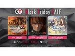 最大70%オフ!コーエーテクモゲームスが「Black Fridayセール」を開催!!