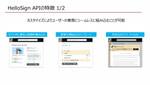 Dropbox、電子署名サービスを組み込める「HelloSign API」を紹介