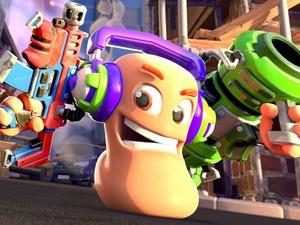 タクティカル爆破ゲーム『Worms Rumble』が本日リリース!同時にPS Plusフリープレイにも登場!