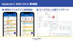 ネオジャパン「desknet's NEO V6.0」提供開始、ワークフロー強化など