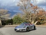 ポルシェ 911 ターボS カブリオレで比叡山の風を感じる