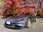 ポルシェ最新の電気自動車「Taycan」で古都・京都の嵐山を駆け抜ける!