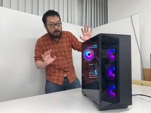 Ryzen 7 5800X&RTX 3080搭載!アスキー×STORMコラボの最強ゲーミングPCが編集部にやって来た