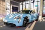 原宿でポルシェ「Taycan」試乗もできる「Porsche Taycan Popup Harajuku」がオープン