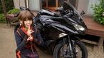 バイク女子・美環、忍者の里に「Ninja ZX-25R」で乗り付け修行体験!