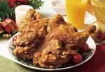 【本日発売】からやま、 丸鶏1羽をまるご揚げた「クリスマスチキン」3日間限定