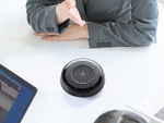 Bluetooth接続対応のウェブ会議用スピーカーフォン、サンワ