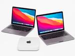 アップル「M1版」MacBook Air、MacBook Pro、Mac miniのパフォーマンスを実アプリベンチでチェック