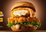 KFC、ボリューム満点「クリーミーコロッケフィレサンド」発売