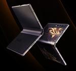 新たな折りたたみスマホが中国から登場、32万円の本革張り高級モデル