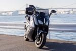 箱根駅伝で活躍したBMWの電動バイク「C-evolution」に乗った!