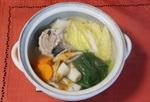 簡単「さば缶鍋」 鯖水煮を野菜と一緒にクツクツ