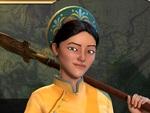 『シヴィライゼーション VI』DLC第5弾ベトナムの指導者・趙氏貞の紹介動画を公開!