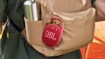 防水・防塵のカラビナ付きBluetoothスピーカー「JBL CLIP4」