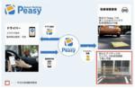 ドコモの駐車場アプリPeasy、アイテックの既存コインパーキングでも利用可能に