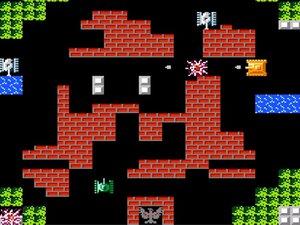 戦車を操り司令部を守り抜け!ファミコンの人気作『バトルシティー』が「プロジェクトEGG」でリリース!
