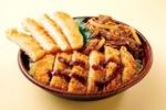オリジン弁当、お肉どっさり「肉トリプル丼」ニクの日限定で販売
