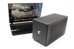 GeForce RTX 3080搭載のGIGABYTE eGPU BOXでゲーミングPCに大変身