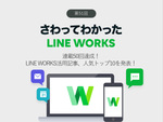 連載50回達成! LINE WORKS活用記事、人気トップ10を発表!