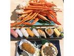 【新宿グルメ】限定「カニ・すし食べ放題」(90分3500円)を期間延長 俺の魚を食ってみろ