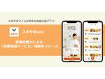 食事記録アプリ「スギサポeats」、管理栄養士による「食事指導サービス」機能が追加