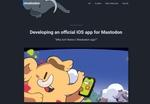 マストドン、初の公式iOSアプリを今夏リリースへ