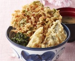 天丼てんや、季節感じる「桜海老天丼」桜エビを増量して発売へ!