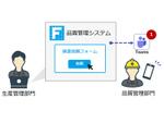ウェブアプリ開発ツール「Forguncy」、Microsoft Teamsと連携