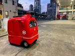 松屋、自動宅配ロボットによるデリバリー実証実験に参加