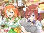 ゲームアプリ『五等分の花嫁』にて新イベント「五つ子にゃんと猫カフェバイト~謎のコクハク!キミが好き~」が2月18日より開催!